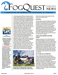 FogQuest Newsletter